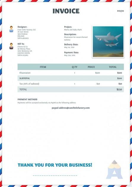 resume skill listdesign invoice on behance. enclosure business, Invoice templates